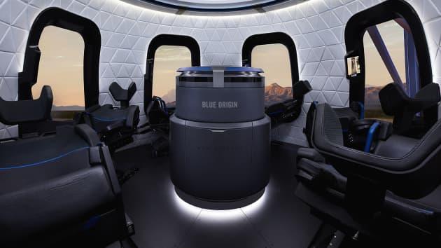 Blue Origin отправит в космос первых туристов уже в апреле
