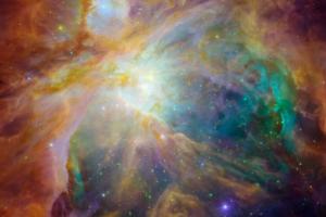 NASA показало хаос в сердце туманности Ориона