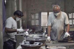 Индийский стартап делает стройматериалы из загрязненного воздуха