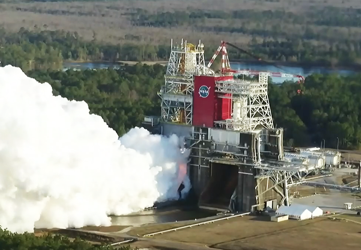 Испытание мега-ракеты SLS пошло не по плану. NASA не считает это провалом.Вокруг Света. Украина