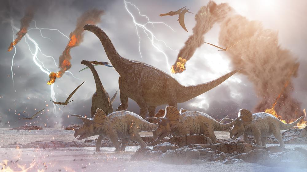 Почему вымерли динозавры.Вокруг Света. Украина
