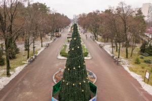 Под Новый год в Киев пришел октябрь