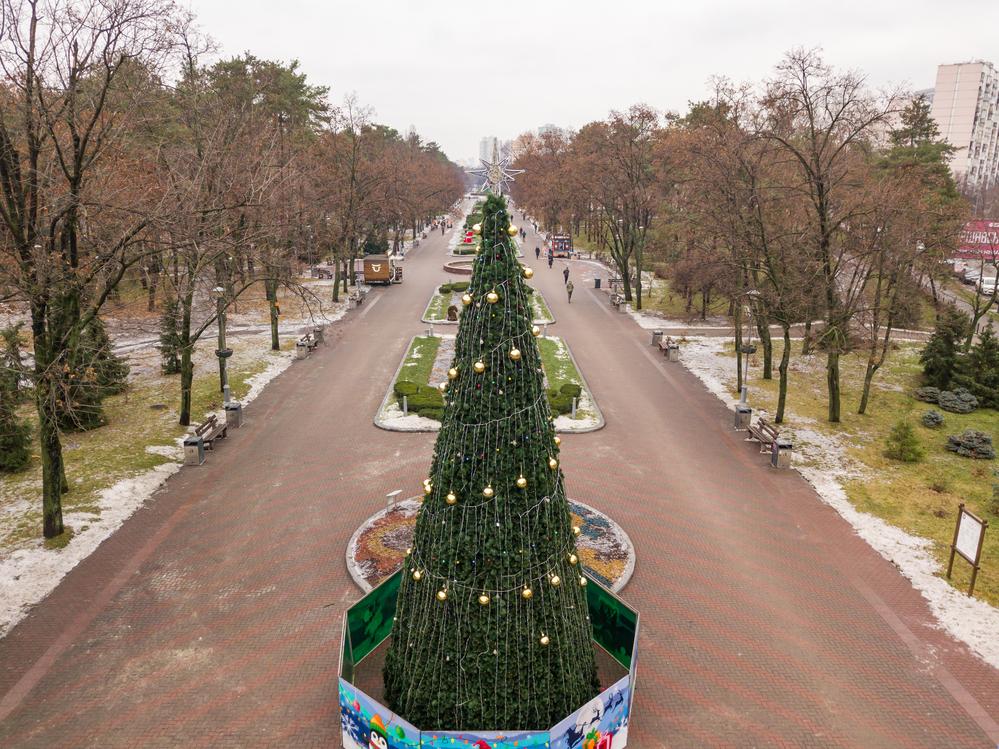 Под Новый год в Киев пришел октябрь.Вокруг Света. Украина