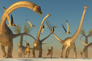 Палеонтологи узнали, как спаривались динозавры