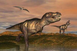 Детеныши тираннозавров начинали ходить и охотиться, будучи размером с небольшую собаку