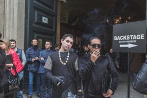 В Милане запретили курить на улице