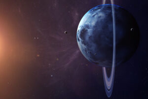 Скоро Уран, Марс и Луна создадут вертикальную троицу
