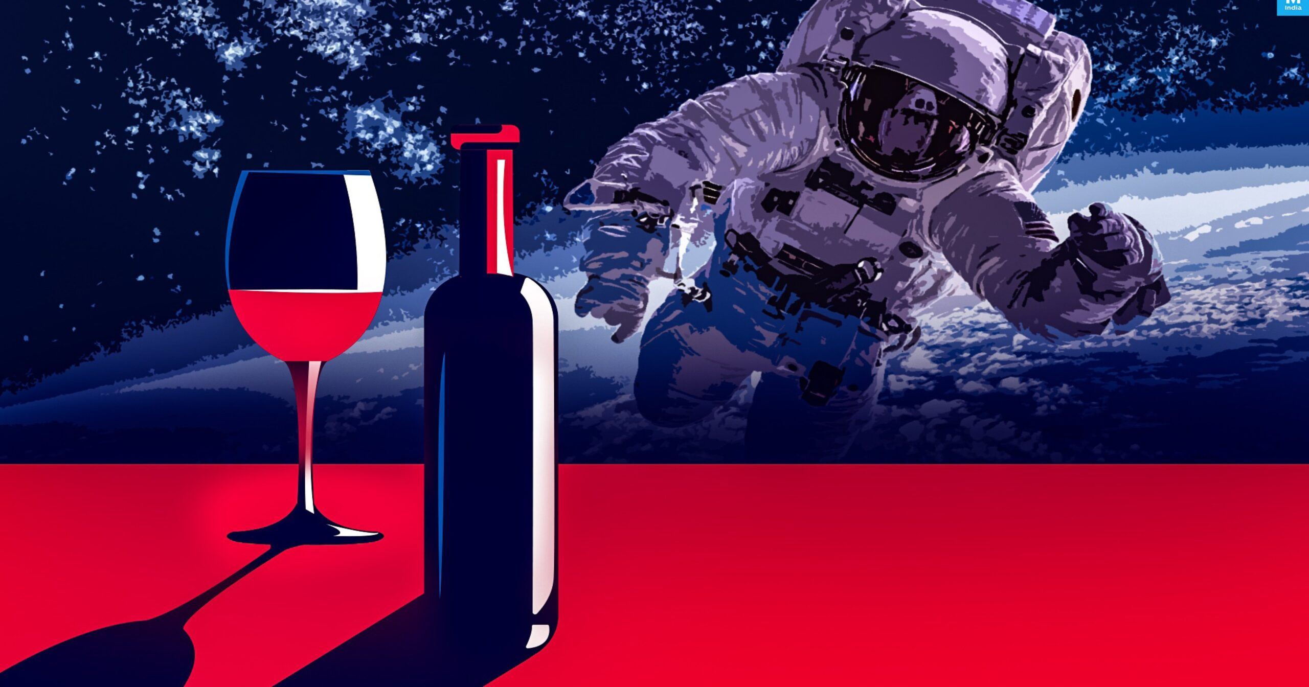После года на МКС французское вино вернется на Землю