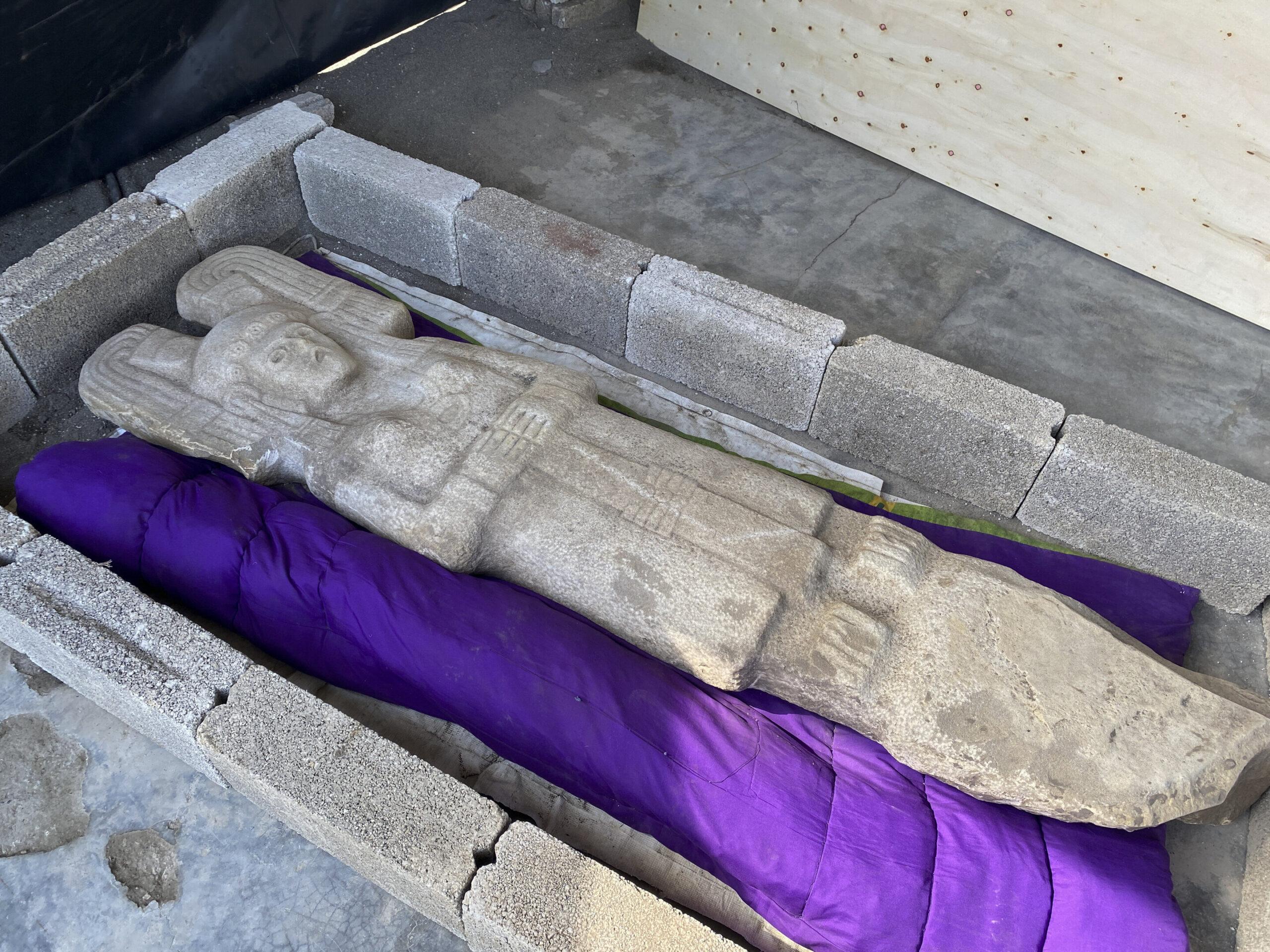 В Мексике нашли уникальную женскую статую.Вокруг Света. Украина