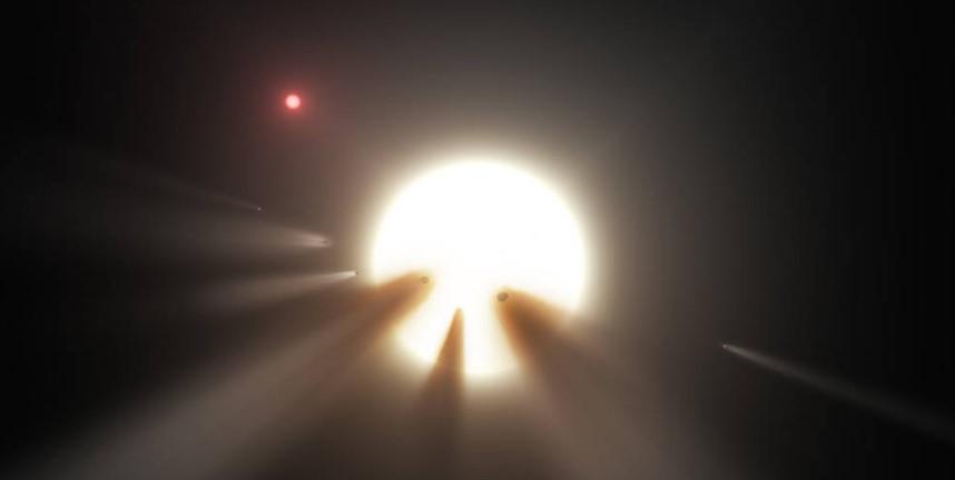 Почему мерцает звезда Табби в созвездии Лебедя.Вокруг Света. Украина