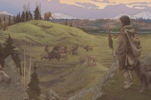 Первые люди, поселившись в Америке, привезли собак с собой