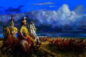 Антропологи восстановили лица скифского царя и его жены