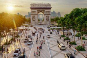 Мэрия Парижа объявила о превращении Елисейских полей в сад