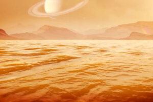 NASA измерило глубину метанового моря на Титане