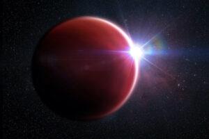 Астрономы обнаружили редчайшую безоблачную экзопланету