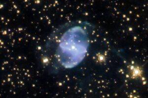 Телескоп Хаббл запечатлел таинственную планетарную туманность