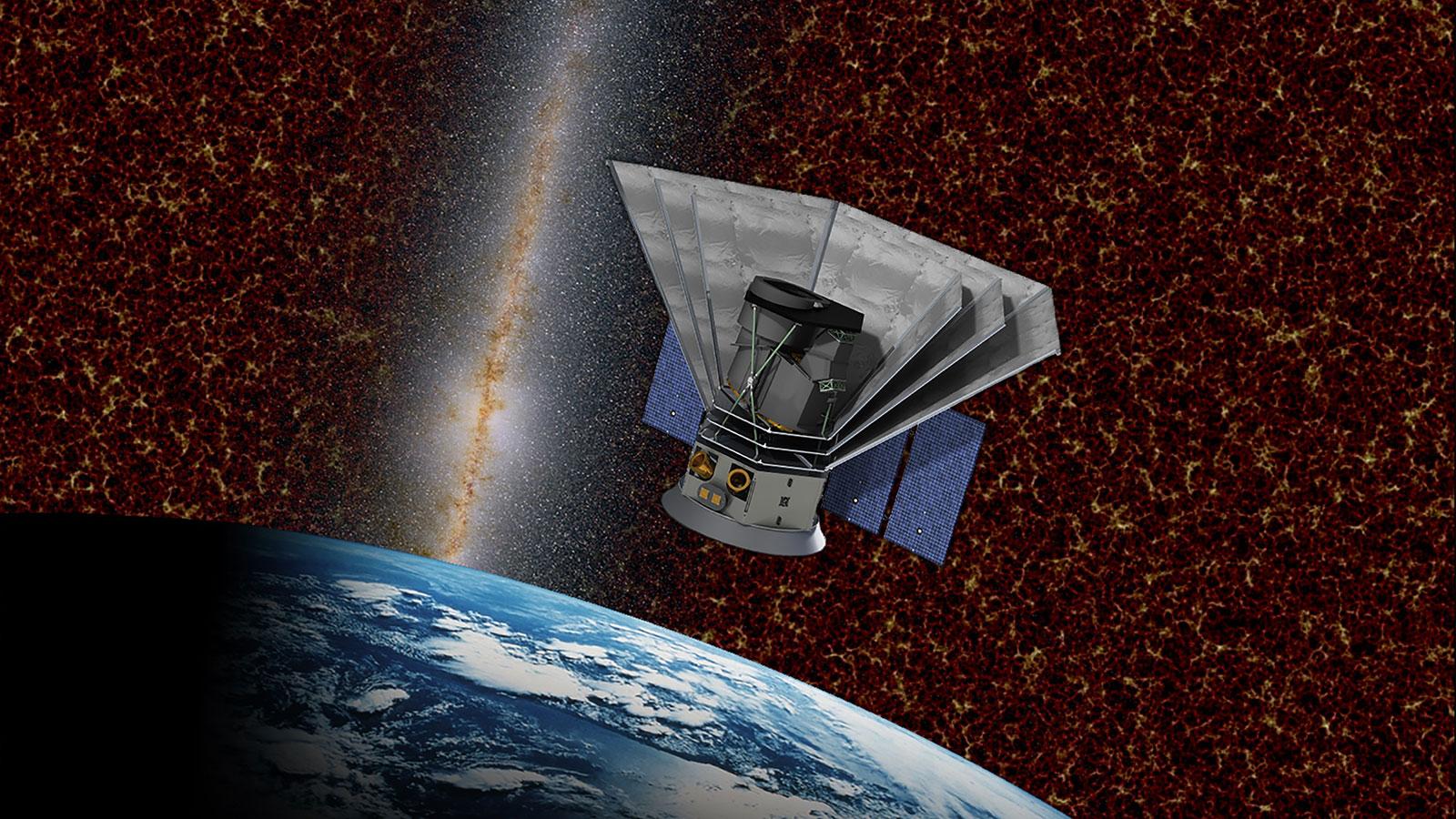 NASA построит космический телескоп для изучения истории Вселенной