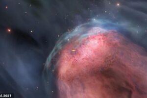 Из-за столкновений галактик черные дыры останутся без «еды»