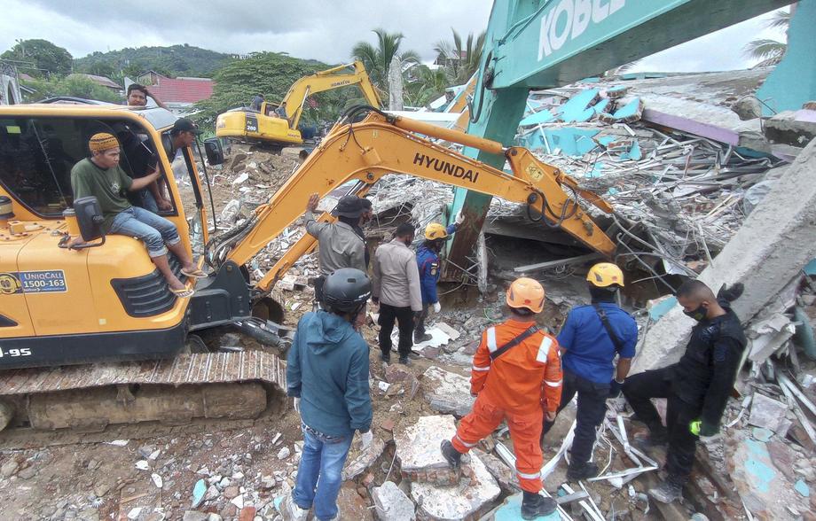 В Индонезии произошло смертоносное землетрясение