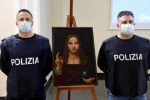Похищенную картину школы Леонардо да Винчи нашли в шкафу спальни