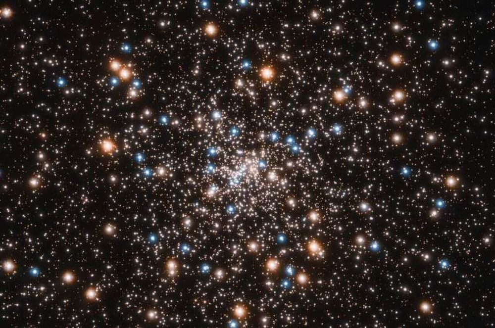 Астрономы обнаружили необычное скопление небольших черных дыр