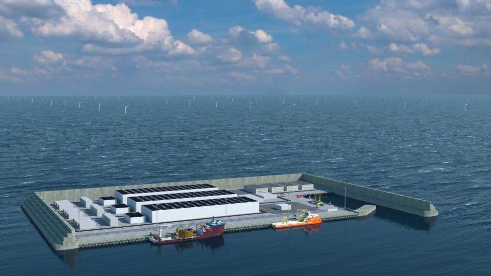 Дания построит в Северном море гигантский энергетический остров