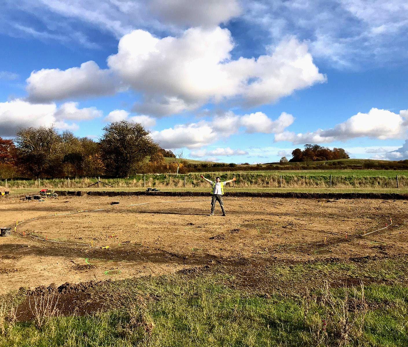 В Англии раскопали городище железного века с остатками круглых домов.Вокруг Света. Украина
