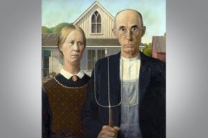 Как «Американская готика» стала самой популярной картиной в истории США