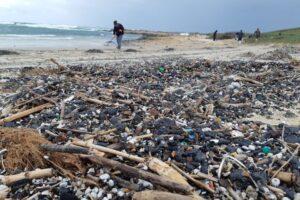 Экокатастрофа: из-за разлива нефти побережье Израиля покрылось комьями мазута