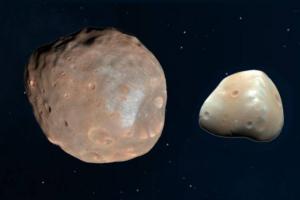 Два естественных спутника Марса были когда-то одним целым