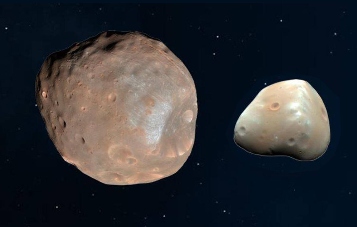 Два естественных спутника Марса были когда-то одним целым.Вокруг Света. Украина
