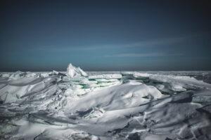 Бердянск превратился в Арктику