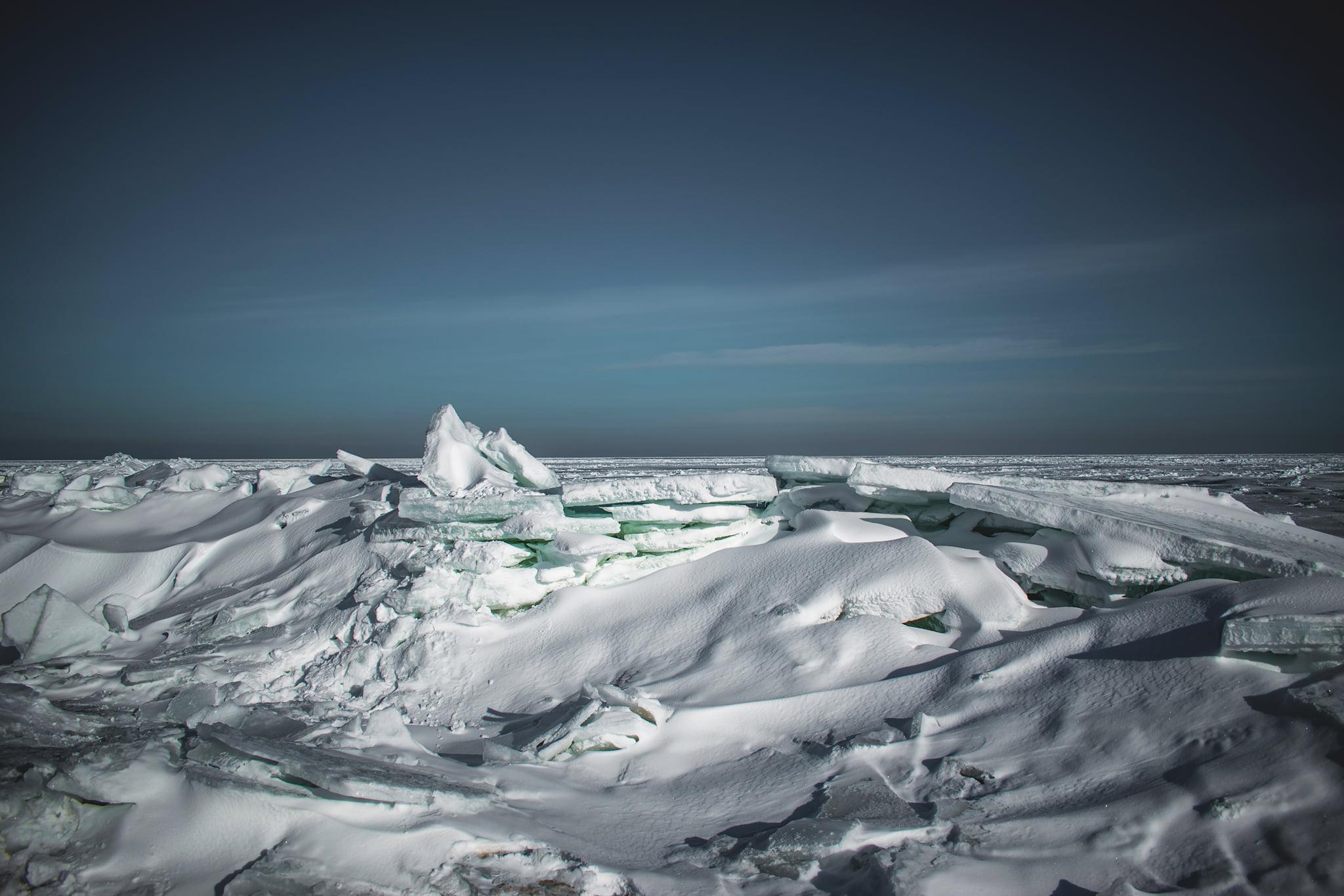 Бердянск превратился в Арктику.Вокруг Света. Украина