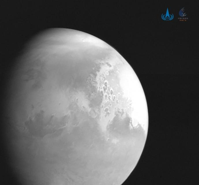 Китайский зонд прислал первое видео Марса