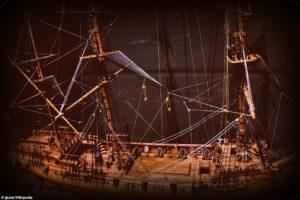 В США подняли со дна шесть скелетов пиратов ХVIII века
