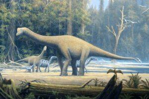 В Португалии найдены сотни следов динозавров разных видов