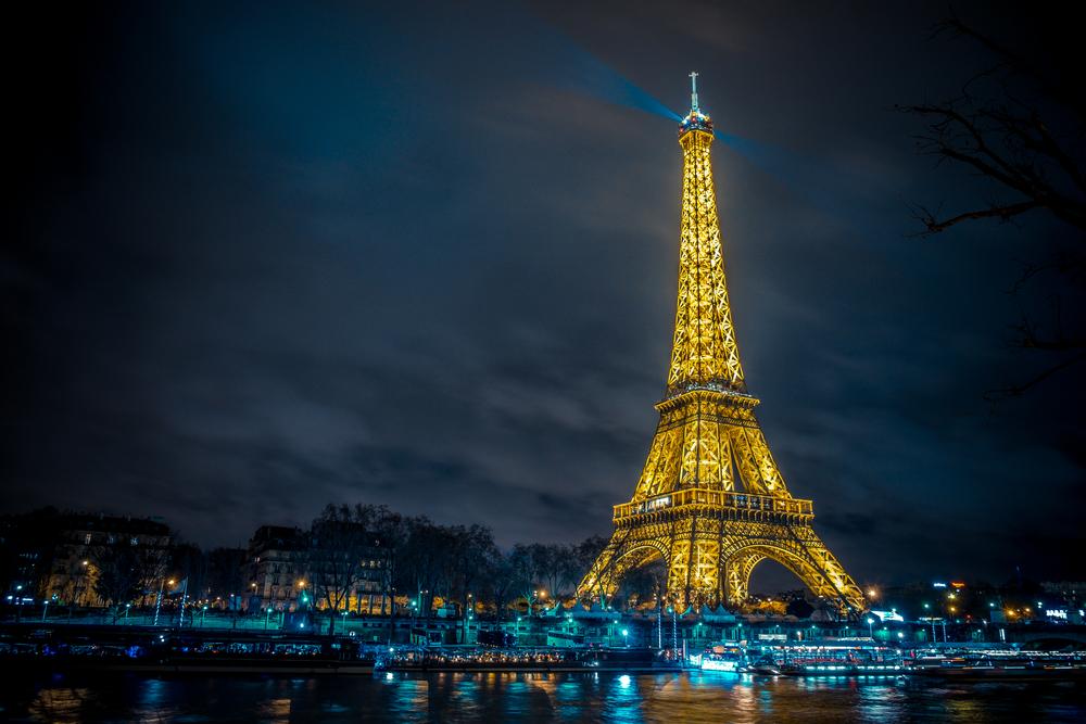 Эйфелева башня станет золотой