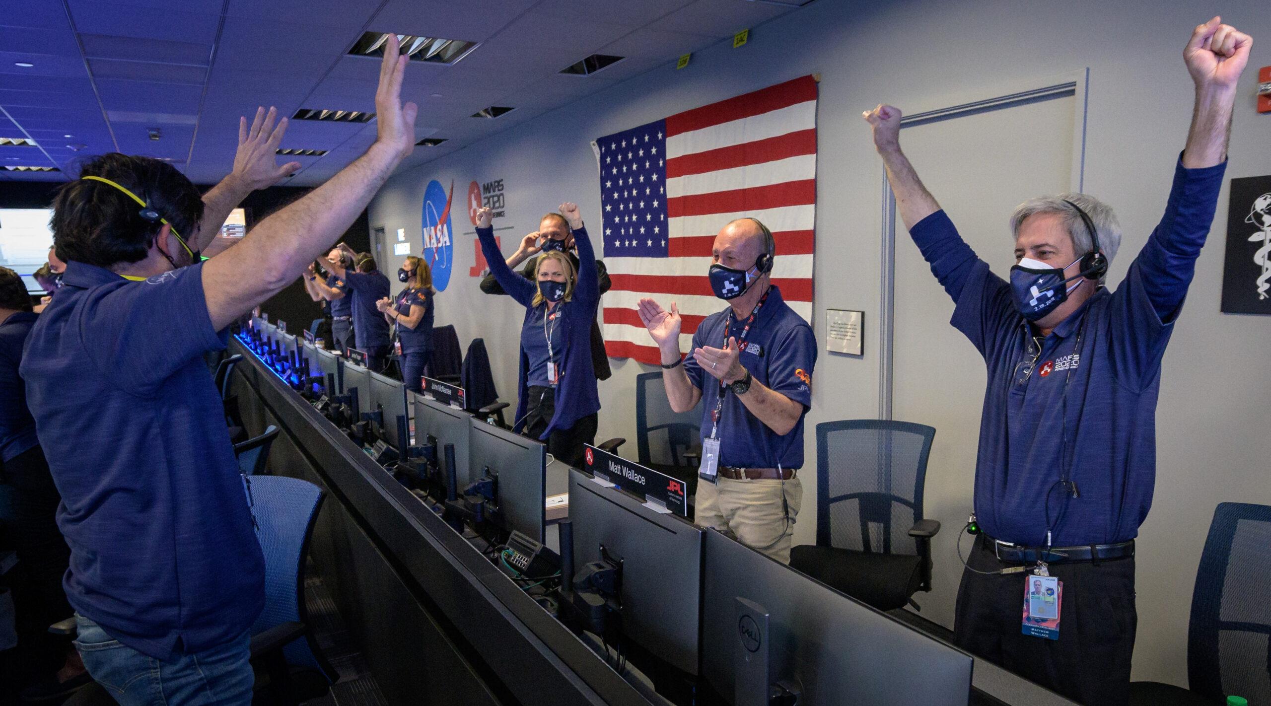 Посадка марсохода Perseverance прошла успешно.Вокруг Света. Украина