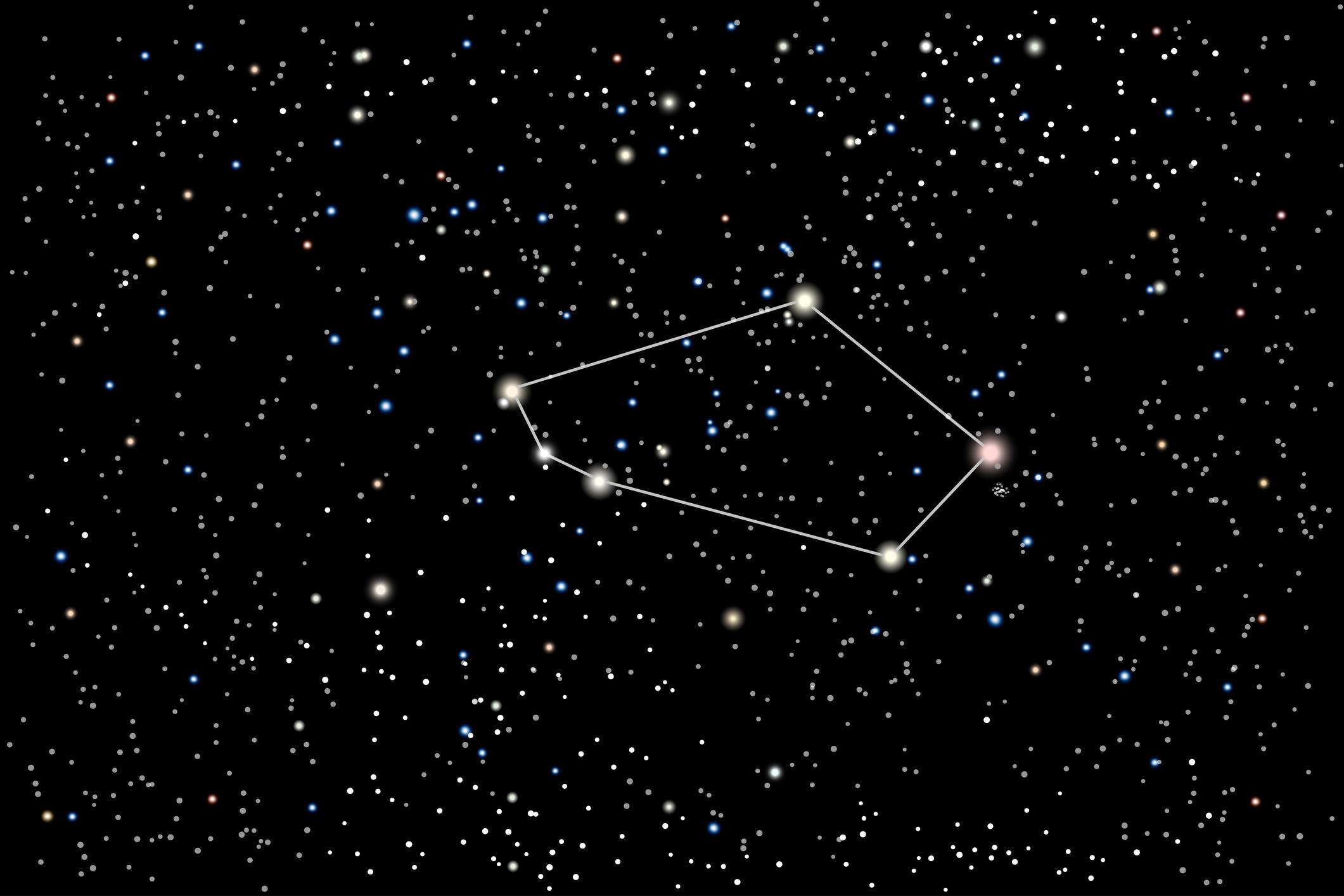 Девять звезд в далекой галактике дали новые факты в пользу существования темной материи.Вокруг Света. Украина