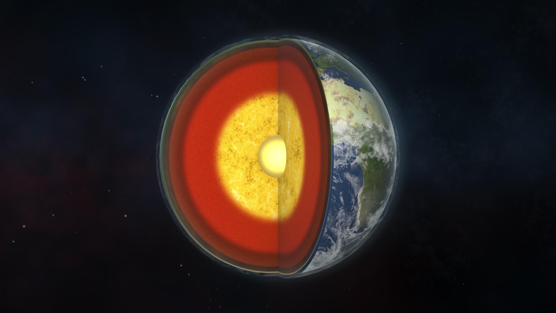 Современные континенты возникли в ходе «разбухания» Земли
