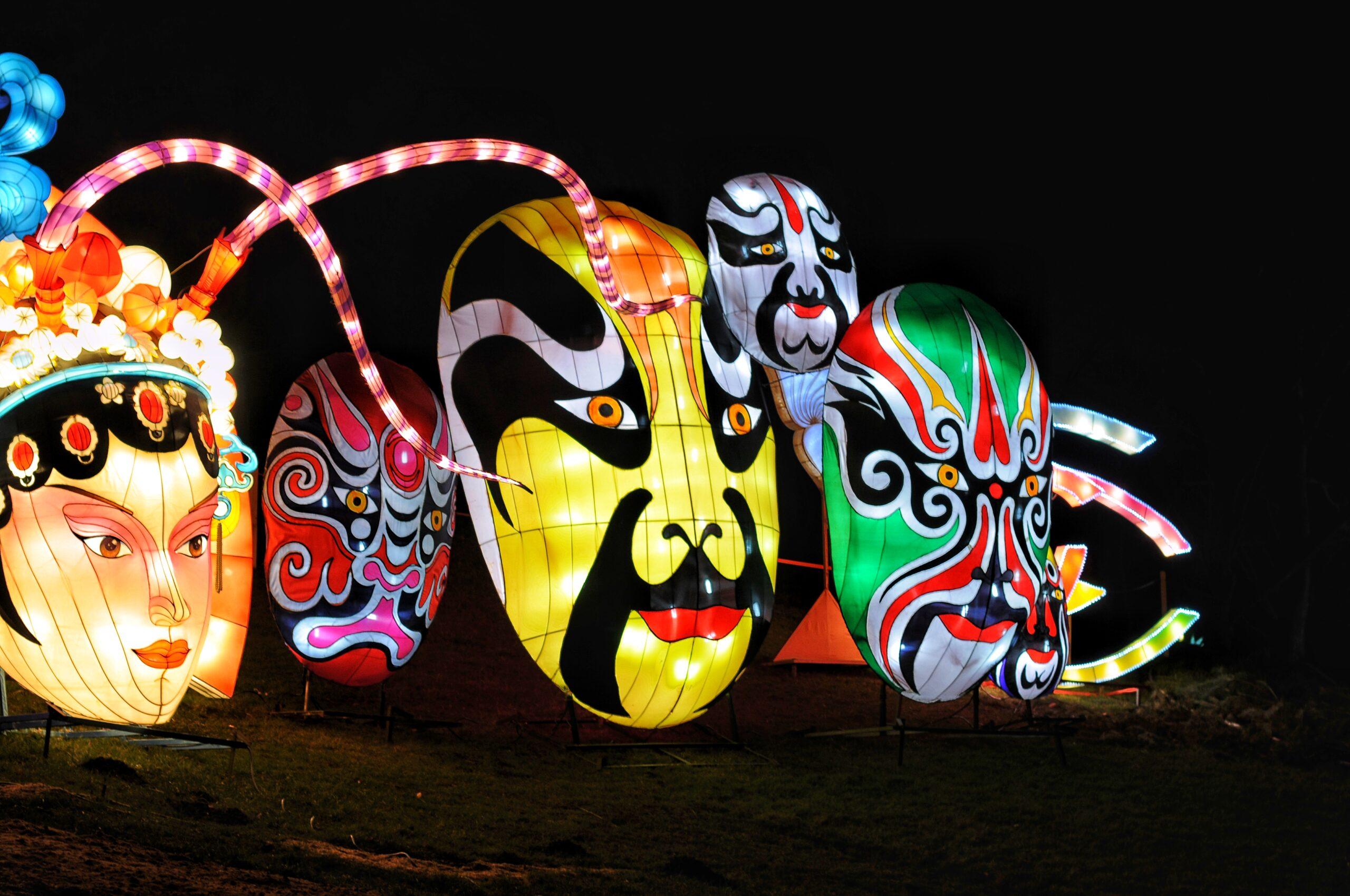 Огненное шоу и гигантский лев: в Киеве стартовал фестиваль китайских фонарей.Вокруг Света. Украина