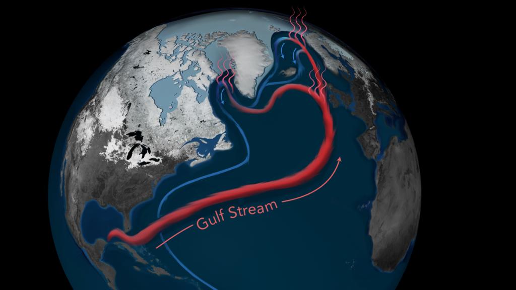 В Атлантике течения замедлились до исторического уровня