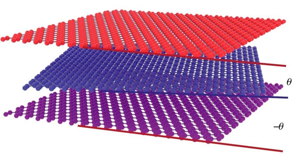 Трехслойный графен приближает получение сверхпроводимости при комнатной температуре