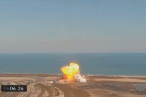 Прототип Starship опять взорвался при посадке