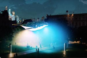 В Киеве установят интерактивную скульптуру, реагирующую на погоду и загрязнение воздуха