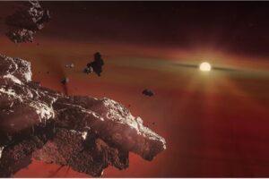 В атмосферах белых карликов дрейфуют остатки их планет