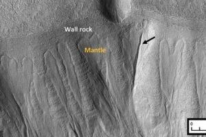 В марсианских оврагах есть немного жидкой воды, и там возможна жизнь
