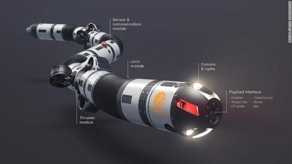 Робот-змея сможет ремонтировать трубопроводы на дне океана.Вокруг Света. Украина