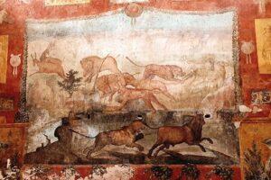 В Помпеях с помощью лазера восстановили уникальную фреску