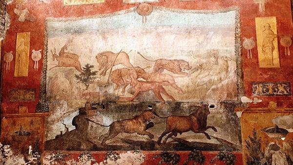 В Помпеях с помощью лазера восстановили уникальную фреску.Вокруг Света. Украина